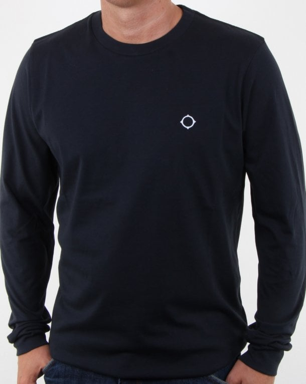Ma.strum L/s Icon T-shirt Dark Navy
