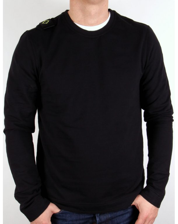 Ma.strum Lightweight Sweatshirt Black