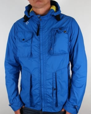 Ma.strum Packable Sniper Jacket Vibrant Blue