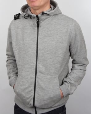 Ma.strum Patton Hoody Grey Marl