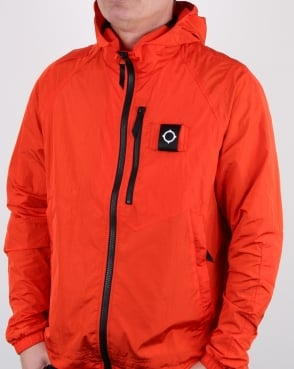 Ma.strum Pegasus Crystal Nylon Jacket Orange