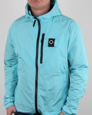 Ma.strum Pegasus Crystal Nylon Jacket Pale Turquoise
