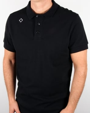Ma.strum Pique Polo Shirt Dark Navy