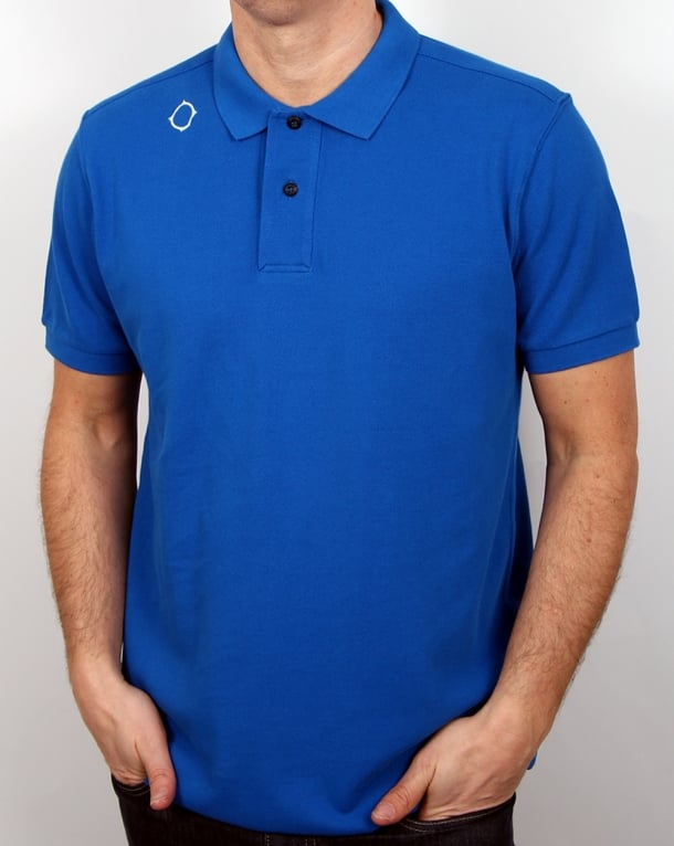 Ma.strum Polo Shirt Vibrant Blue