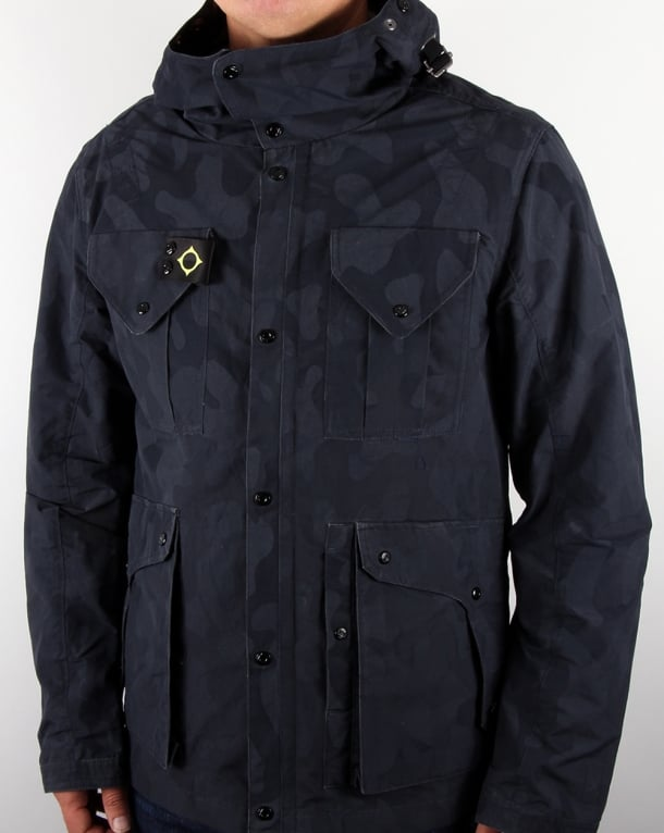 Ma.strum S4 Jacket Dress Blue