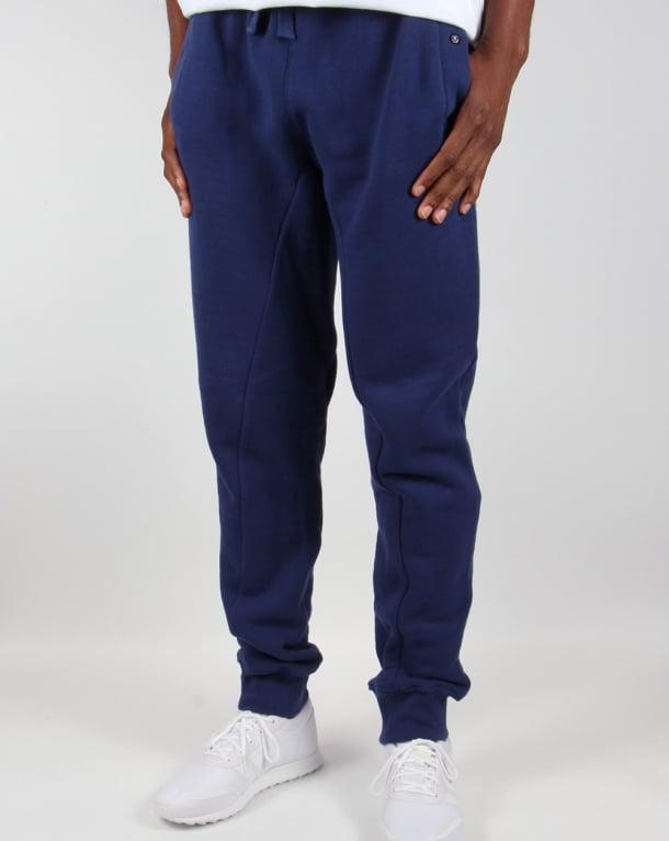 Ma.strum Slim Fit Herringbone Sweat Pants Patriot Blue