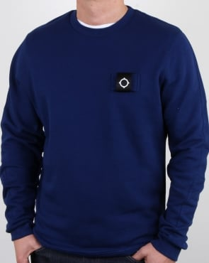Ma.strum Training Crew Sweat Dark Indigo