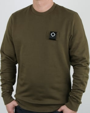 Ma.strum Training Crew Sweat Light Khaki