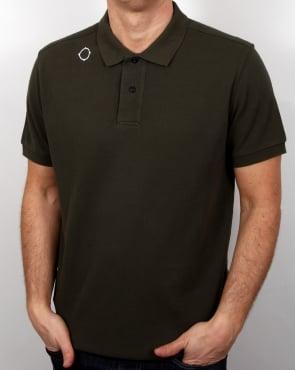 Ma.strum Warley Polo Shirt Dark Olive