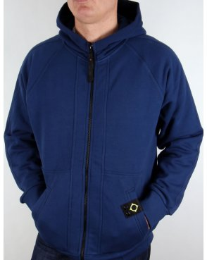 Ma.strum Zip Through Hoody Northern Blue