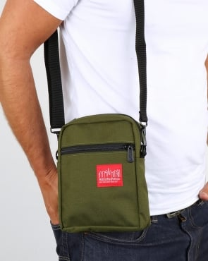 Manhattan Portage City Lights Mini Bag Olive Green