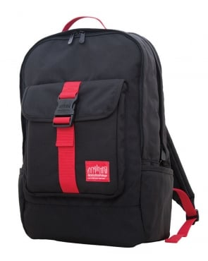 Manhattan Portage Cordura Lite Stuyvesant Backpack Black/Red