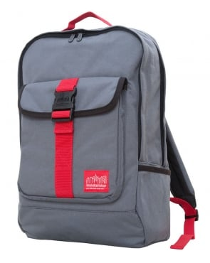 Manhattan Portage Cordura Lite Stuyvesant Backpack Grey/Red