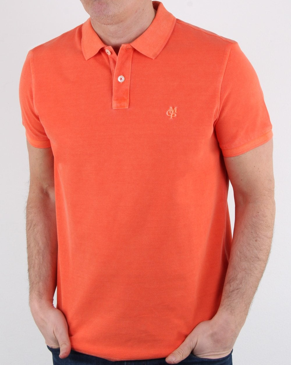 100% authentic well known huge selection of Marc O Polo Polo Shirt Orange