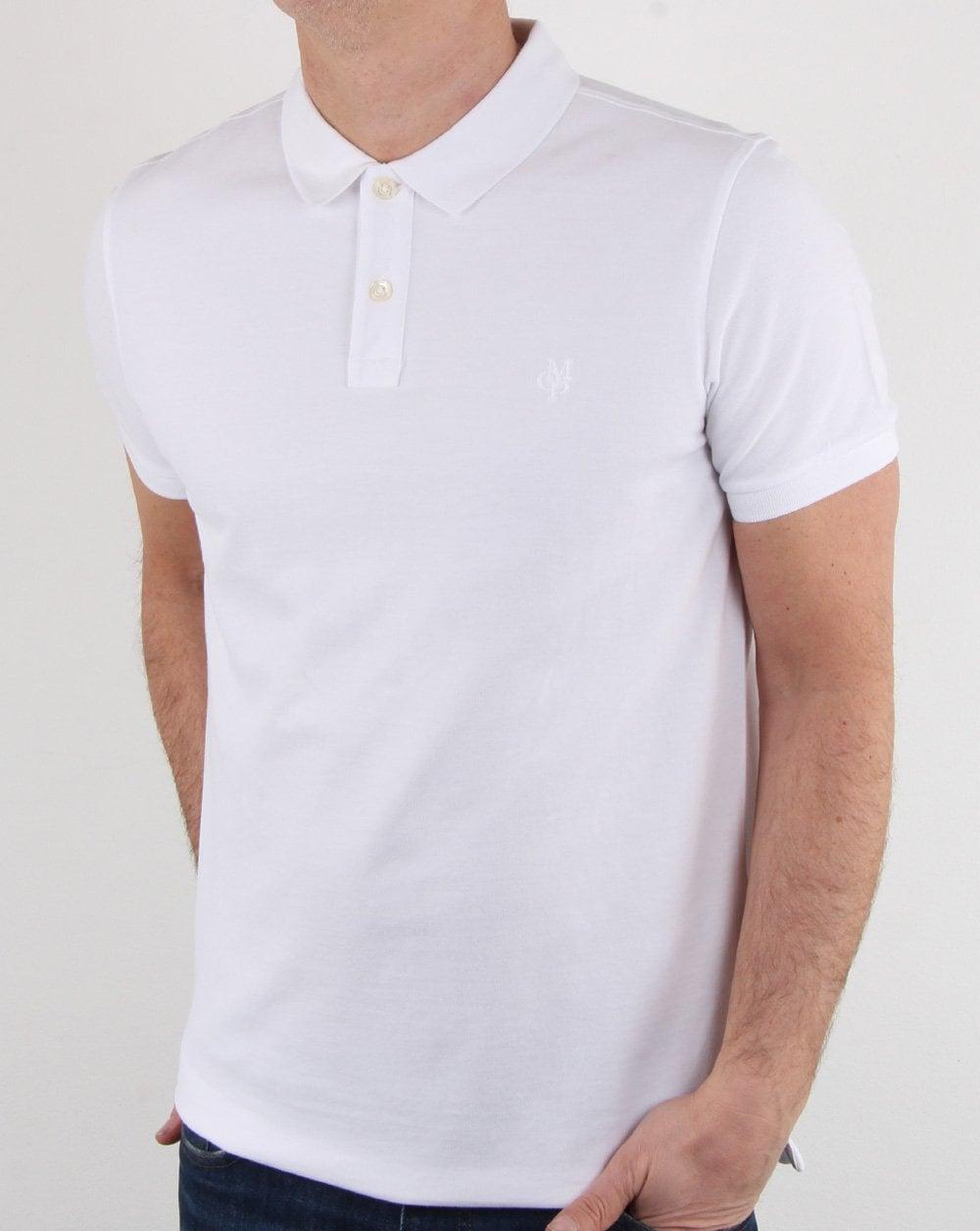 premium selection a2c03 83f0e Marc O Polo Polo Shirt White