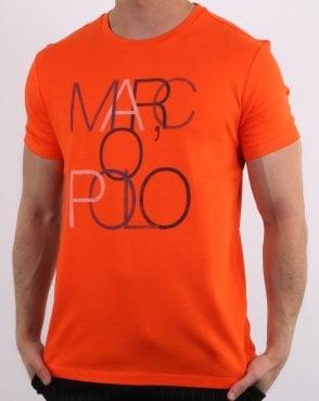 49352a0c46 Marc O Polo Marc O Polo T-shirt Flame Red