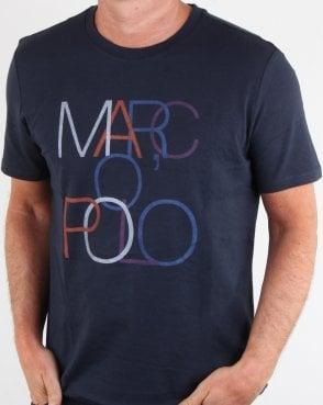 a352b0676128e Marc O Polo Marc O Polo T-shirt Navy