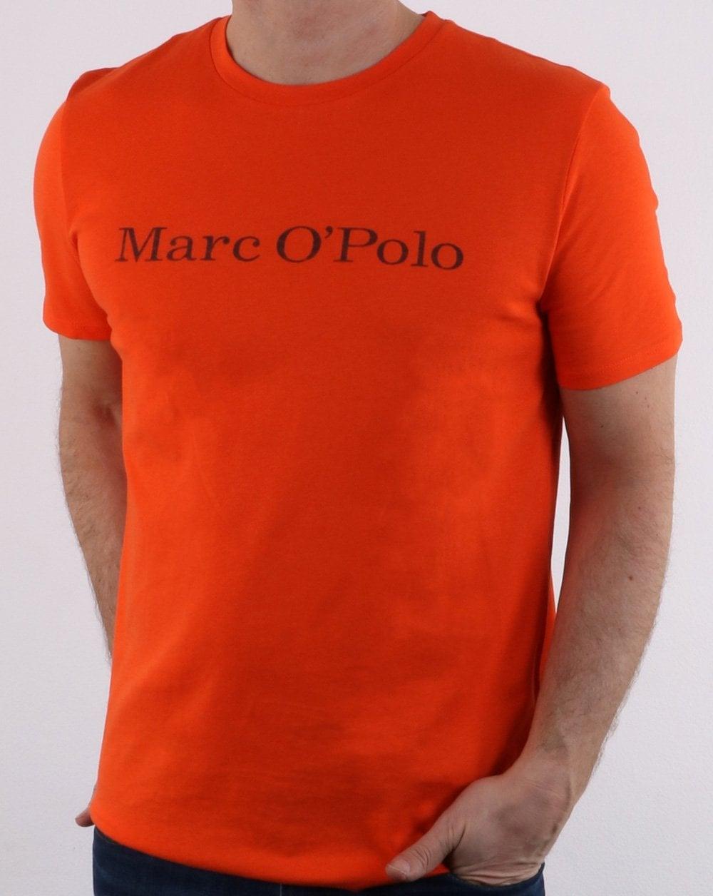 innovative design 1e2fc ded89 Marc O Polo T-shirt Orange