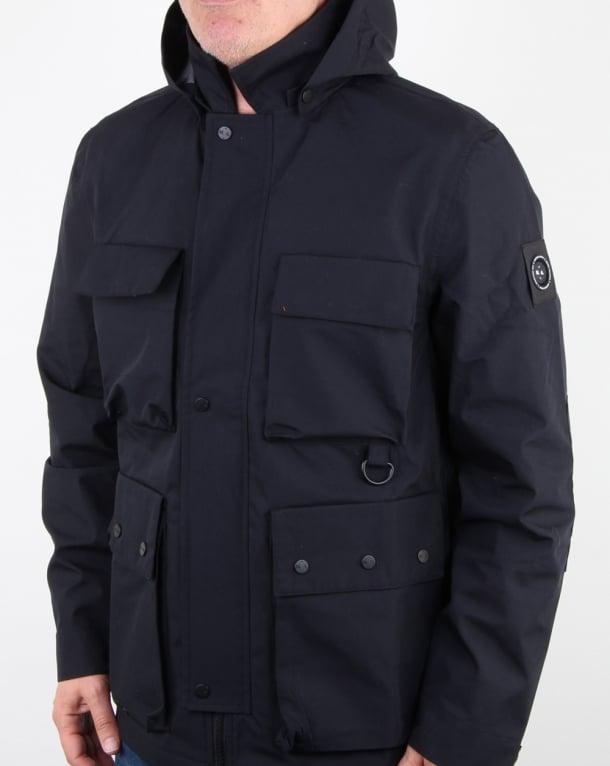 Marshall Artist 3l Bonded Field Jacket Navy