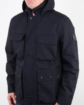 Marshall Artist 3l Bonded Field Jacket Navy