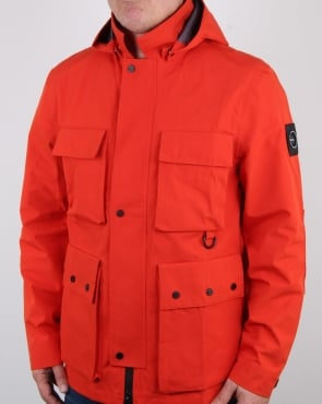Marshall Artist 3l Bonded Field Jacket Orange