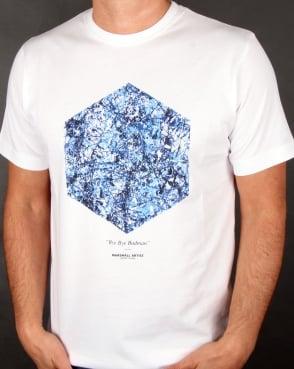 Marshall Artist Bye Bye Badman T-shirt White