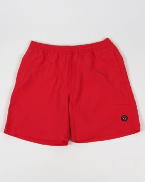 Marshall Artist Classic Swim Shorts Red