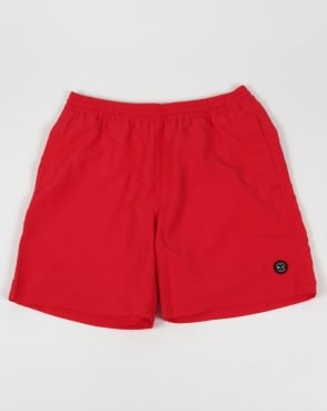 Marshall Artist Classic Swim Shorts Red