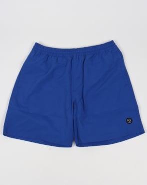 Marshall Artist Classic Swim Shorts Royal Blue