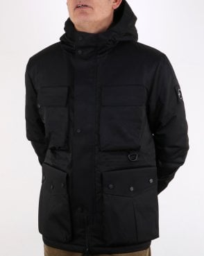 Marshall Artist Classsic 4 Pocket Parka Black