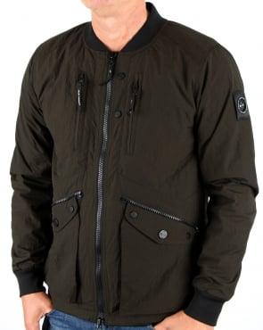 Marshall Artist Compacta Bomber Jacket Khaki