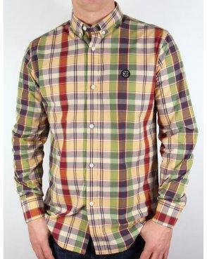 Marshall Artist Country Check Shirt Multi