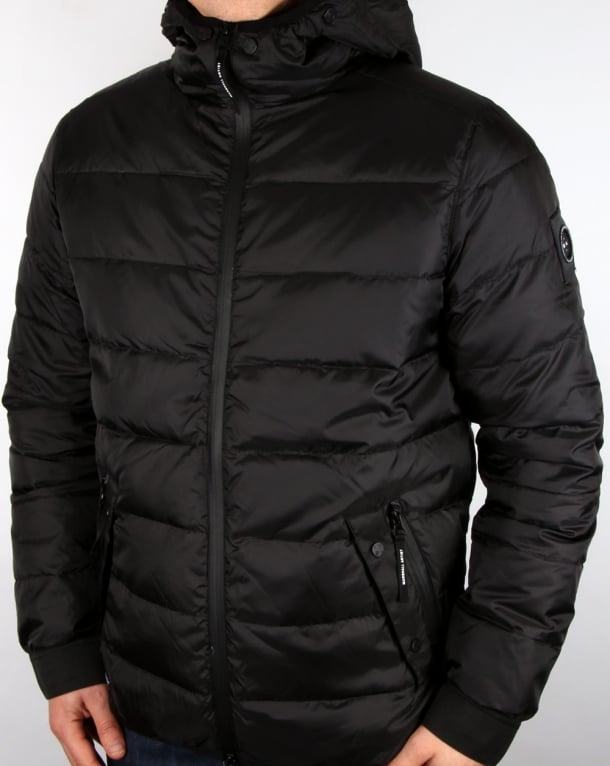 Marshall Artist Difesa Down Jacket Black