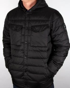 Marshall Artist Down Filled Hooded Jacket Black