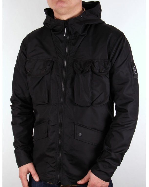 Marshall Artist Durawax Multi Pocket Jacket Black