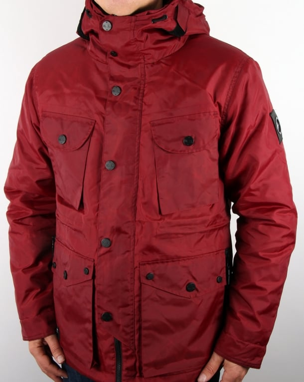 Marshall Artist Durawax Snow Parka Imperial Red