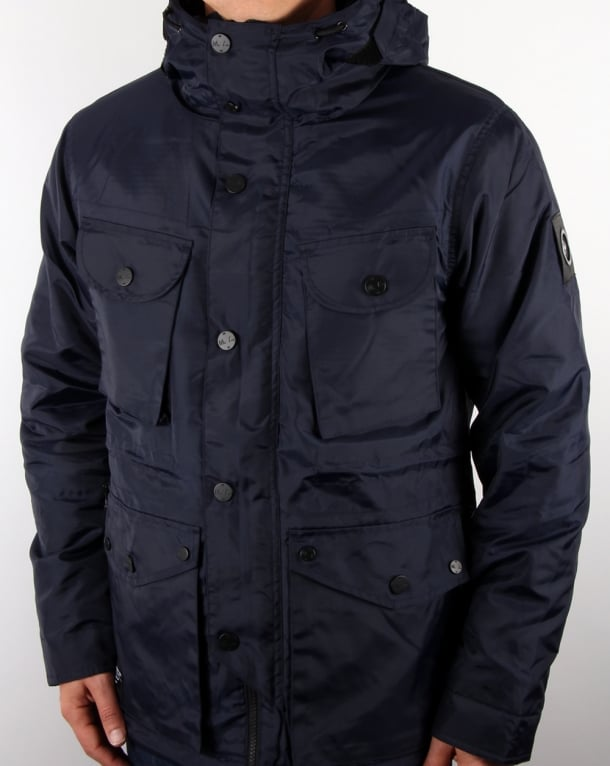 Marshall Artist Durawax Snow Parka Midnight Navy