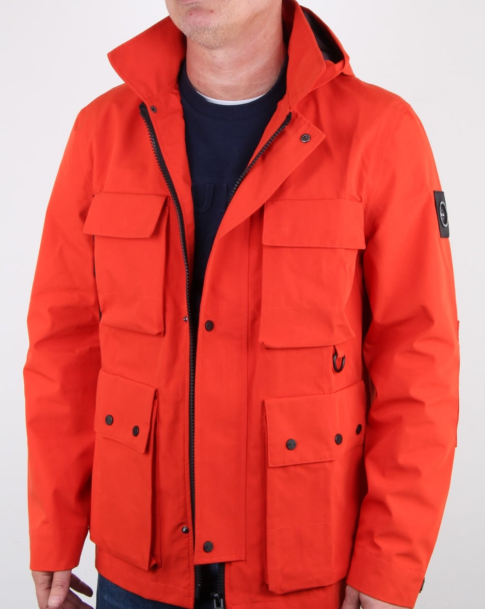 Best Buy Military Discount >> Marshall Artist 3l Bonded Field Jacket Orange, Mens, Jacket, Coat,Hood