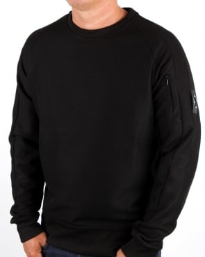 Marshall Artist Furtiva Crew Neck Sweat Black