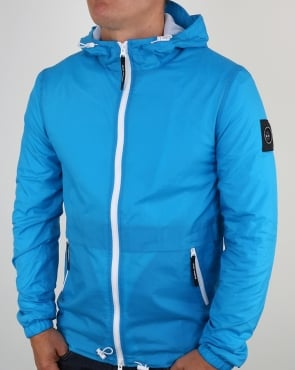 Marshall Artist Light Shell Ripstop Windrunner Cyan