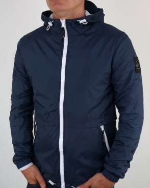 Marshall Artist Light Shell Ripstop Windrunner Navy
