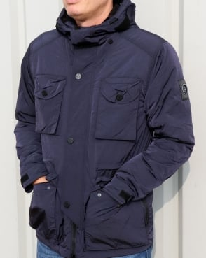 Marshall Artist Liquid Nylon Snow Parka Navy