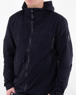 Marshall Artist Liquid Over Shirt Navy