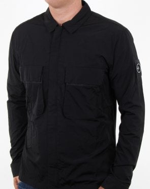Marshall Artist Liquid Overshirt Black