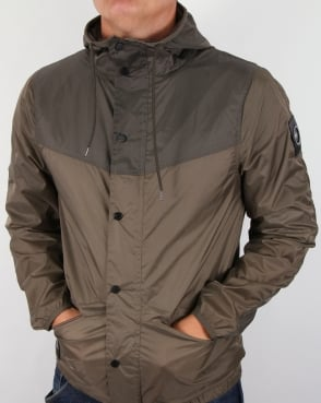 Marshall Artist Liteshell Tech Jacket Putty Khaki