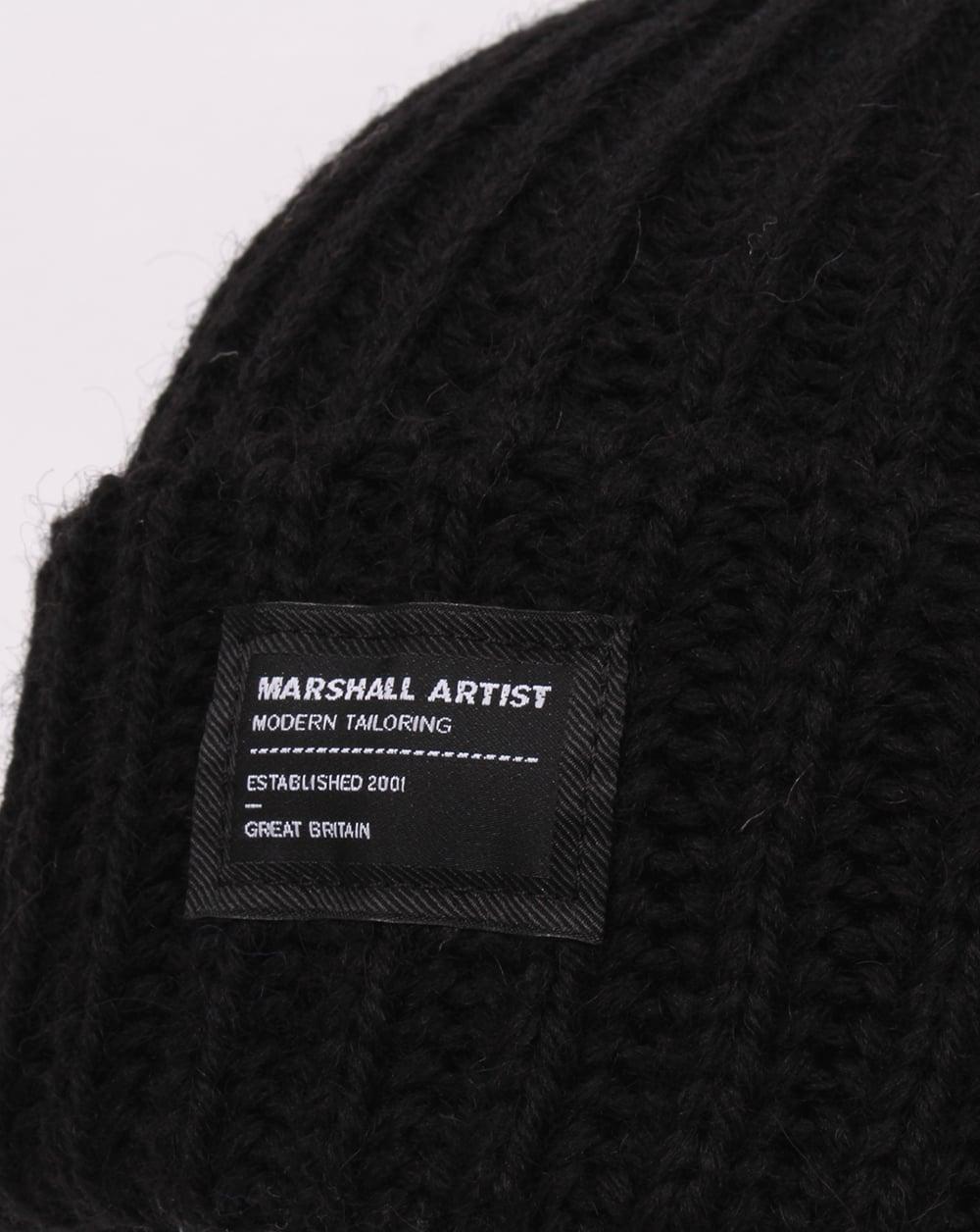 Marshall Artist Made In England Wool Beanie Black 8f0a639cb6a