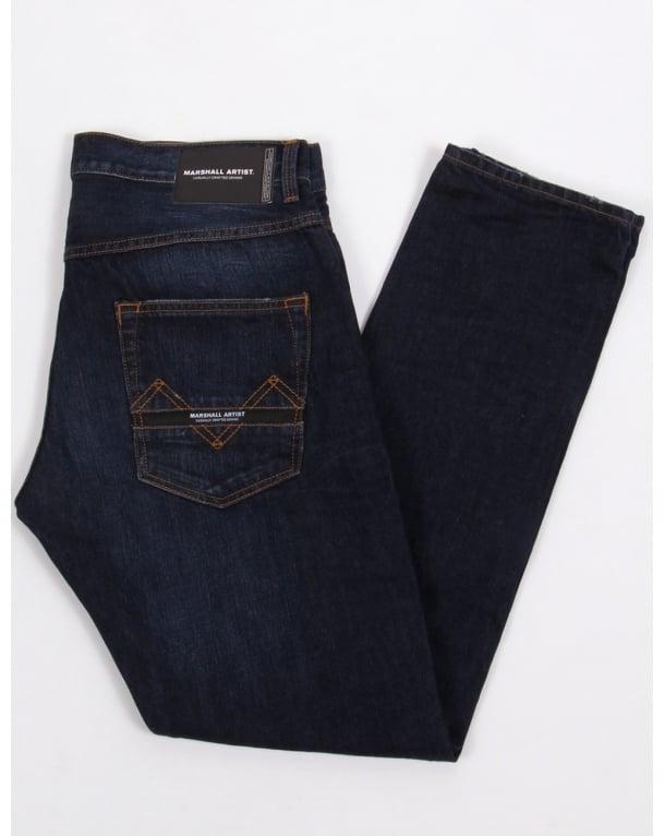 Marshall Artist Marshall Fit Jeans Indigo Dark Vintage Wash