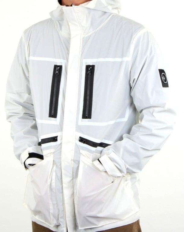 Marshall Artist Matte Reflex Jacket Ice White