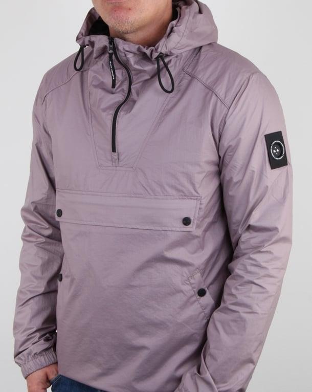 Marshall Artist Micro Ripstop Half Zip Jacket Pink