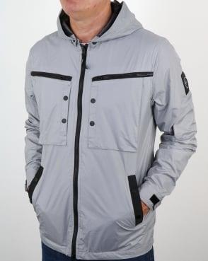 Marshall Artist Micro Ripstop Overshirt Cool Grey